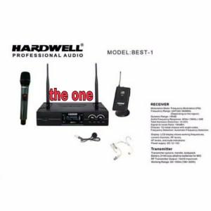 Harga mic wireless hardwell best 1 handle clip on | HARGALOKA.COM