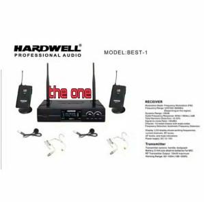 Harga mic wireless hardwell best 1 clip on headset | HARGALOKA.COM