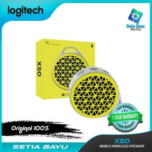 Harga speaker bluetooth logitech x50 mobile wireless speaker system | HARGALOKA.COM