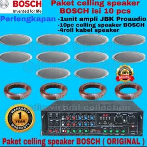 Harga paket speaker ceiling bosch isi 10 pcs original | HARGALOKA.COM