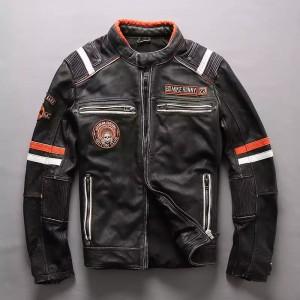 Harga jaket kulit motor touring jalanan terbaru asli domba super original   hitam | HARGALOKA.COM