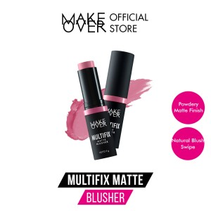 Harga make over multifix matte blusher   03 blush | HARGALOKA.COM