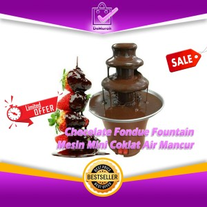 Harga chocolate fondue fountain mesin mini coklat air | HARGALOKA.COM