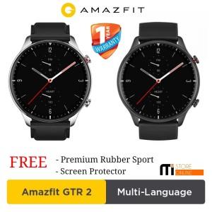 Harga amazfit gtr 2 smartwatch blood oksigen play music bluetooth call   sport | HARGALOKA.COM