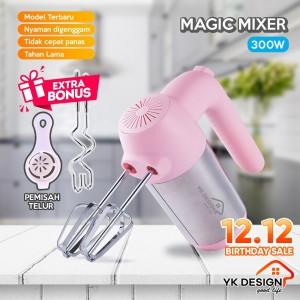 Harga yk design yk 110 hand mixer 5 kecepatan alat pengaduk telur mixer | HARGALOKA.COM