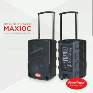 Harga speaker wireless baretone max10c original etra bass bluetooth usb | HARGALOKA.COM