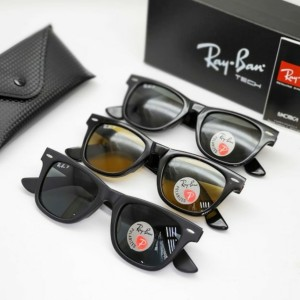 Harga kacamata pria ray ban wf polarized size50 grade original   coklat   HARGALOKA.COM