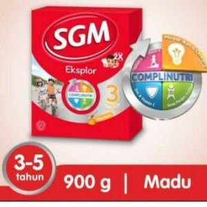 Harga sgm eksplor 3 plus vanila madu susu bubuk 900 | HARGALOKA.COM