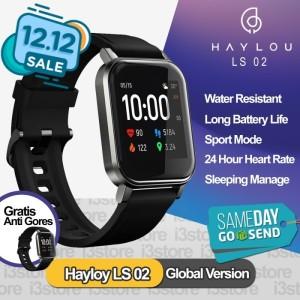 Harga xiaomi haylou sport ls02 global version smart watch smartwatch ls 02   | HARGALOKA.COM