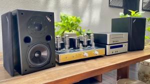 Harga bundled hifi system speaker ae1 cd player dan integrated amplifier | HARGALOKA.COM