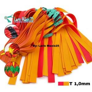 Harga high power karet ketapel slingshot import merah plus kuning t 1 | HARGALOKA.COM