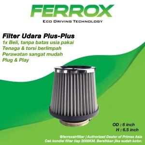 Harga ferrox filter udara open intake 3 inch universal not k amp n apexi | HARGALOKA.COM