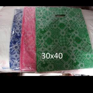 Harga hd oval batik uk 30 x 40 kantong plastik baju plastik online | HARGALOKA.COM