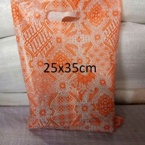 Harga hd oval batik uk 25 x 35 kantong plastik baju shopping | HARGALOKA.COM