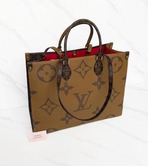 Harga lv on the go monogram bag tote onthego size gm | HARGALOKA.COM