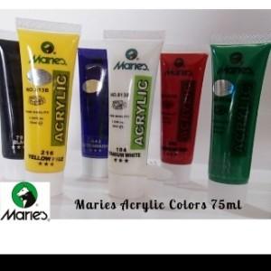 Katalog Maries Acrylic Colour 75ml Cat Acrylic Maries Cat Akrilik Maries Katalog.or.id
