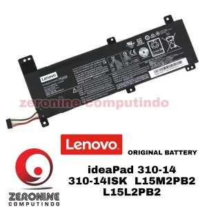 Harga baterai lenovo ideapad 310 14 310 14isk 310 14ikb l15l2pb2 | HARGALOKA.COM