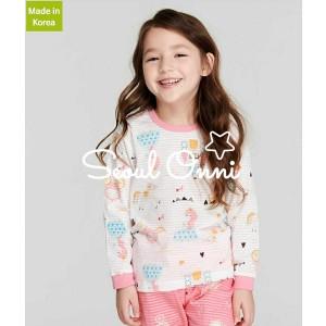 Harga seoul onni korea baju tidur anak bayi setelan piaya   pink princess   | HARGALOKA.COM