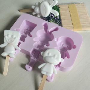 Harga cetakan silikon ice cream popsicle spongebob cetakan es krim   HARGALOKA.COM