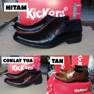 Harga sepatu pantofel pria kulit sapi asli sepatu kerja formal kantor   HARGALOKA.COM