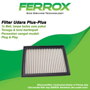 Harga filter udara ferrox nissan terra 2018 up | HARGALOKA.COM
