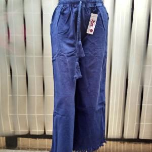 Harga kulot rawis jeans   navy all | HARGALOKA.COM