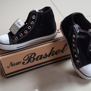 Harga sepatu standar sekolah nb new basket ukuran 33 34 35 36 37 38 39 40 41   | HARGALOKA.COM