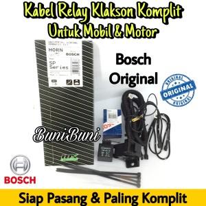 Harga kabel relay set klakson bosch komplit untuk mobil motor original | HARGALOKA.COM