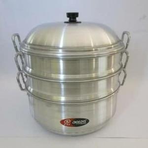 Harga langseng jawa 36 cm panci kukusan klakat kukusan aluminium | HARGALOKA.COM