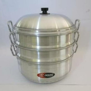 Harga langseng jawa 33 cm panci steamer kukusan klakat aluminium | HARGALOKA.COM