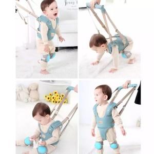 Harga baby walker harness safety alat bantu bayi belajar jalan   biru muda | HARGALOKA.COM