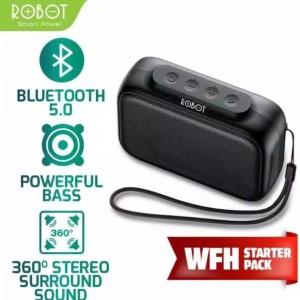 Harga speaker bluetooth robot rb100 portable wireless super bass mini | HARGALOKA.COM