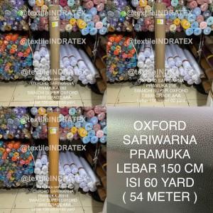 Harga kain oxford sariwarna sari warna pramuka bahan baju seragam lebar | HARGALOKA.COM