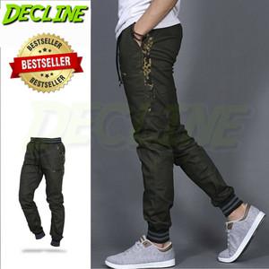 Harga celana joger pria joger camo green joger list army jogger urban   hijau army | HARGALOKA.COM