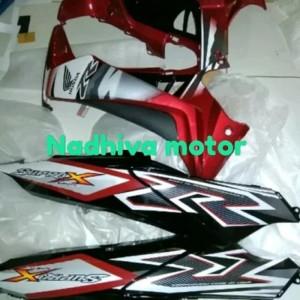 Harga cover body depan belakang supra x 125 2007 2008 2009 2010 2011 2012 | HARGALOKA.COM