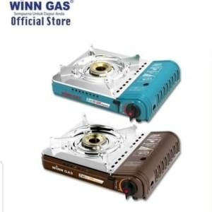 Harga kompor portable w 2 ws   2 fungsi tabung gas kaleng   3 12 kg win   HARGALOKA.COM