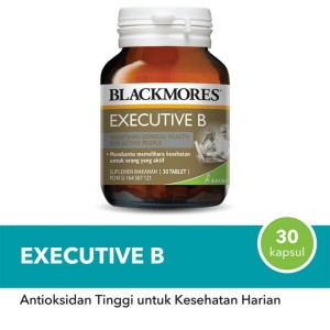 Harga blackmores executive b vitamin isi 30 original | HARGALOKA.COM