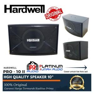 Harga speaker pasif karaoke hardwell pro 10 ii pro10ii harga 1 set | HARGALOKA.COM