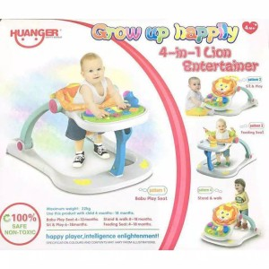Harga mainan edukasi anak walker 4in1 baby walker alat belajar jalan | HARGALOKA.COM