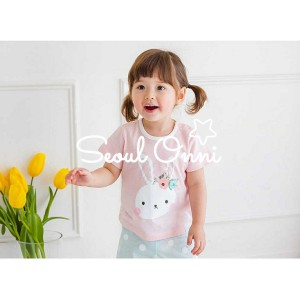 Harga seoul onni korea baju tidur anak bayi setelan piyama  pink rabbit   | HARGALOKA.COM