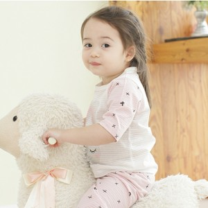 Harga seoul onni korea baju tidur anak bayi setelan piyama   rabbit 3 4     HARGALOKA.COM