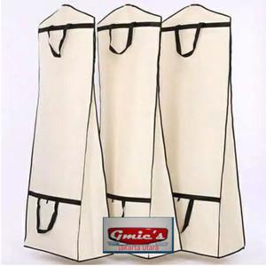 Harga cover tas pelindung gaun baju pengantin cover gantungan gaun | HARGALOKA.COM