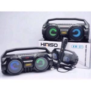 Harga speaker bluetooth kimiso km s1 plus mix   HARGALOKA.COM