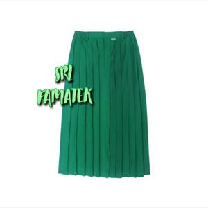 Harga seragam sekolah sd smp hijau panjang rempel   24 25 | HARGALOKA.COM