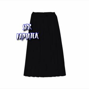 Harga rok sekolah hitam sd smp sma panjang rempel   24 25 26 | HARGALOKA.COM