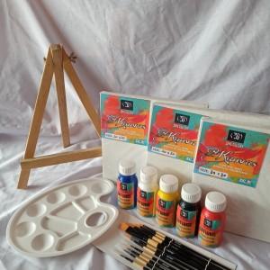 Katalog Kanvas Lukis Prapatan Spanram 30x30cm Katalog.or.id