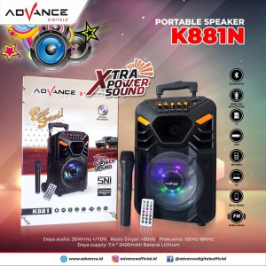 Harga speaker bluetooth advance k   HARGALOKA.COM