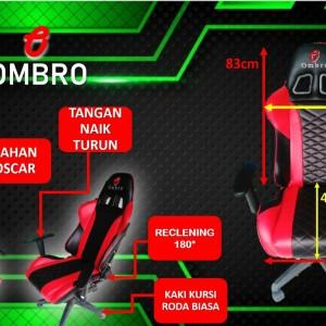 Harga kursi gaming ombro link khsus custome nama free ongkir bandung     HARGALOKA.COM