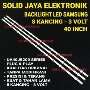 Harga backlight samsung 40 inch inc 8 kancing 3 volt lampu led tv | HARGALOKA.COM