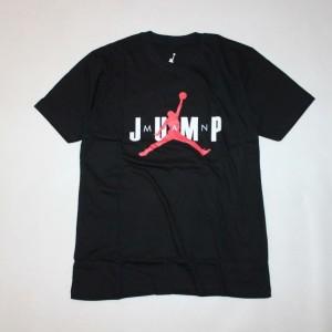 Harga kaos baju tshirt tees basket air jordan x psg bola original distro   jump hitam | HARGALOKA.COM